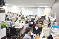 京都本社の業務風景です。