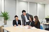従業員同士での話し合いも活発に行っています