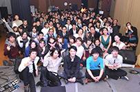 年に一度、経営者が集う<br />音楽イベントを主催