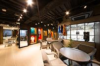 解放感があり、洗練されたデザインオフィス。