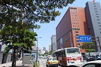 所在地は、福岡の中心である<br />「天神」になります。