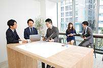2017年2月に開設したばかりの<br />五反田オフィス