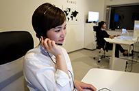 コールセンタースタッフ業務の様子