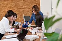 従業員満足度100%の優良<br />ホワイト企業を目指します