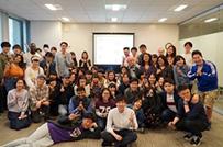 たくさんの留学生と触れ合いながら活動しています!